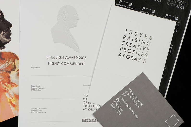 Robert Gordon University design work
