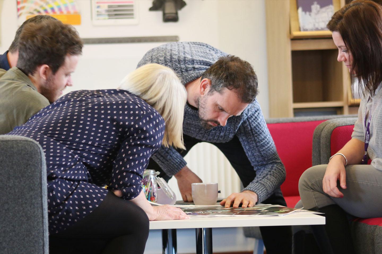 Creative discussion at Loughborough University