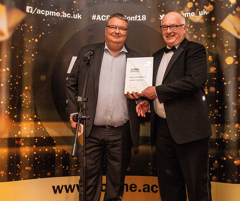 Highly-commended: University of Sheffield