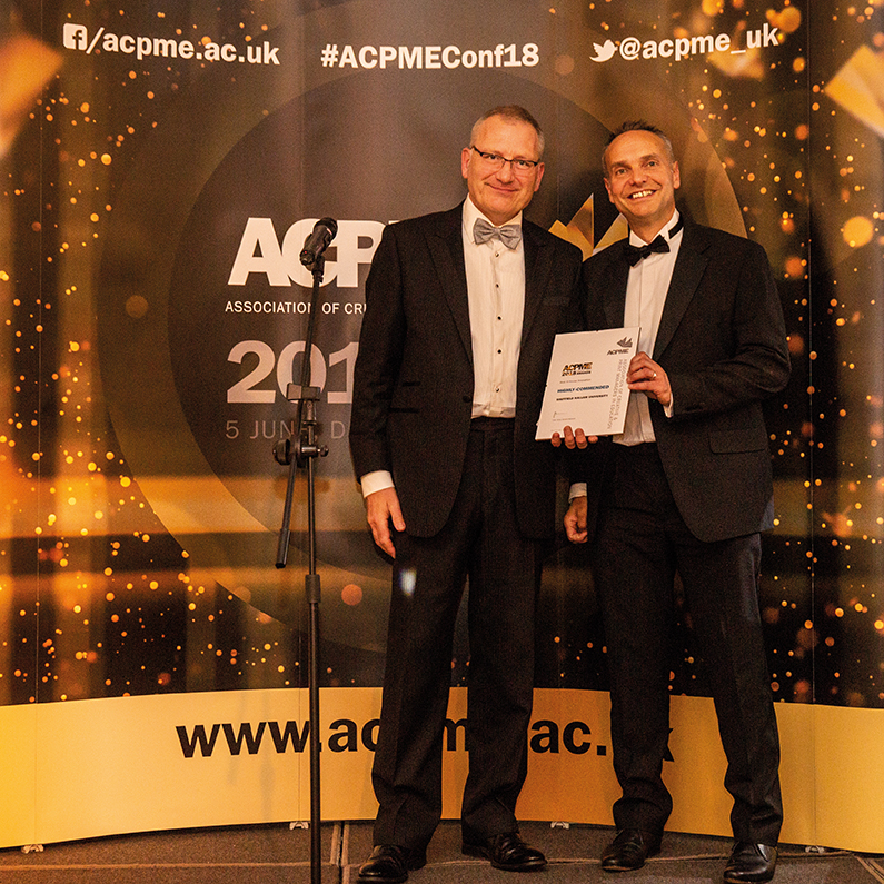 Highly-commended: Sheffield Hallam University