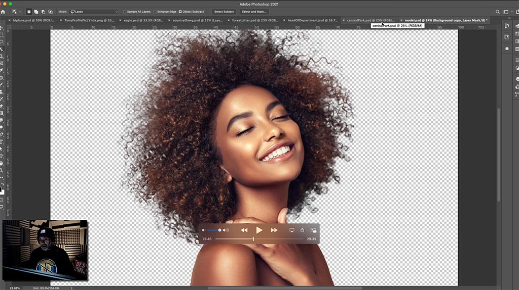 Tony Harmer – Neat, neat schtuff! Quicker journeys and better results in Photoshop with new selection options