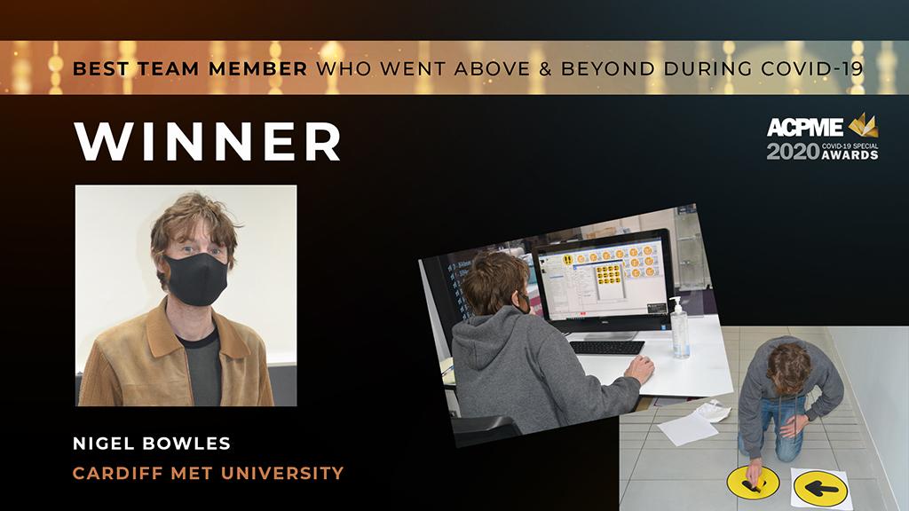 Team member Winner