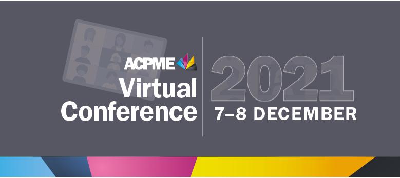 2021 ACPME Virtual Conference